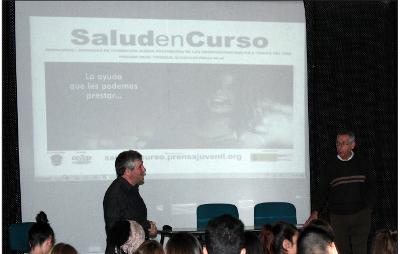 José D. Aliaga y Joan Padrós dinamizaron la jornada presencial de Badalona que contó con gran aceptación.