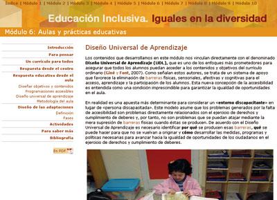 Diseño Universal de Aprendizaje (www.ite.educacion.es/formacion/materiales/126/cd/unidad_6/mo6_diseno_universal_de_aprendizaje.htm).