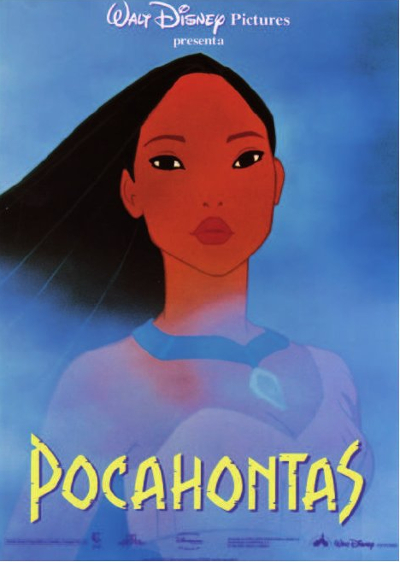 Pocahontas (1995) de Mike Gabriel y Eric Goldberg.