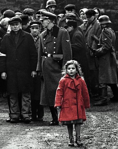 La lista de Schindler (1994) de Steven Spielberg.
