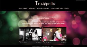 Página oficial de Tristépolis (2013) de Nuria Cabezas