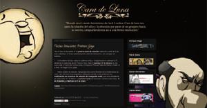 Blog oficial de Cara de Luna (2012) de Enrique Diego y otros