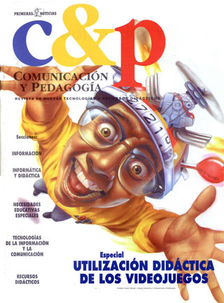 Artículo publicado en el Especial de Utilización didáctica de los videojuegos de Comunicación y Pedagogía