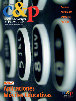 Artículo publicado en el Especial de Aplicaciones Móviles Educativas de Comunicación y Pedagogía
