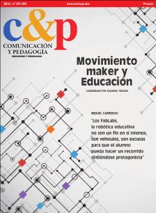 Comunicación y Pedagogía 291-292. MOvimiento maker y Educación