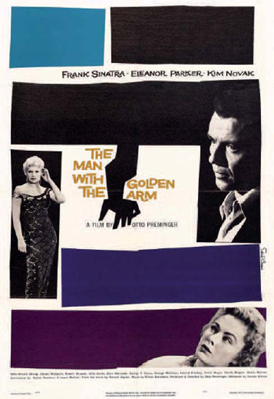 El hombre del brazo de oro (1955) de Otto Preminger.