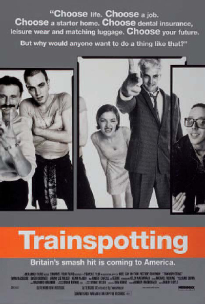 Trainspotting (1996) de Danny Boyle.
