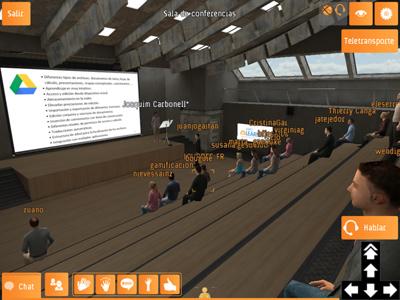Exposiciones orales, conferencias y ferias virtuales.