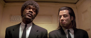 Pulp Fiction (1994) de Quentin Tarantino.