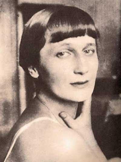Anna Ajmátova.