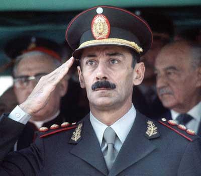 Jorge Videla, militar y dictador argentino.