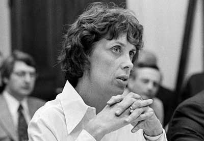 Patricia Derian, política y activista de derechos humanos estadounidense.