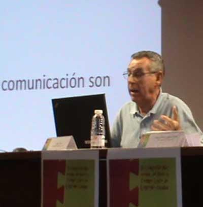 """José D. Aliaga: """"Desde luego hay que pedir seriedad, responsabilidad y rigor a los profesionales de los medios de comunicación, pero también al periodismo ciudadano y, en definitiva, a todas las personas que informan y se relacionan a través de Internet"""""""