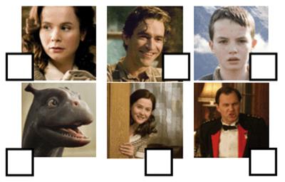 Personajes de la película Mi monstruo y yo