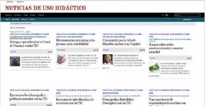 Categoría Ciencias Sociales de Noticias de uso didáctico (www.noticiasusodidactico.com/blog/category/ciencias-sociales).