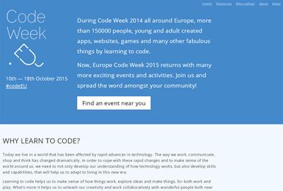 CodeWeek 2015
