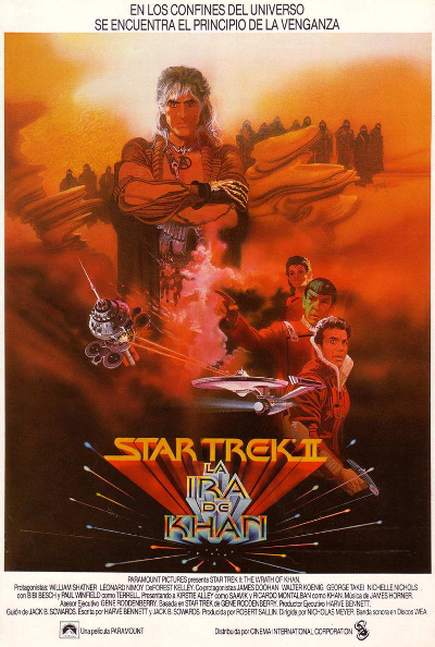 Star Trek II. La ira del Khan de Nicholas Meyer.