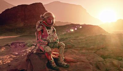 Marte (2015) de Ridley Scott.