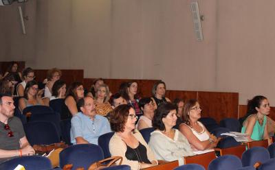 Algunos de los técnicos de las UPCCAs participantes en la Jornada Salud en Curso: Prevenir a través de la imagen, celebrada en Valencia.