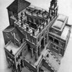Escalera arriba y escalera abajo (1960) de M.C. Escher.